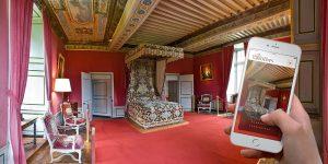 Responsive design Château de Bazoches par blindesign