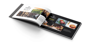 Print brochure/catalogue France Prestige Institute par blindesign