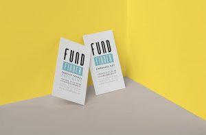 Logo et cartes de visite FundFinder par blindesign