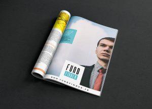 Publicité presse FundFinder par blindesign