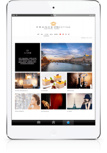 Responsive website France Prestige Institute by blindesign