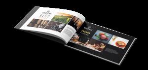 Print brochure/catalog France Prestige Institute by blindesign